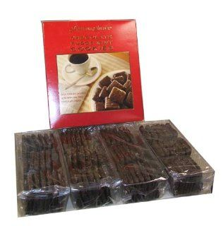 Premium Select Chocolate Fudge Mint Cookies Christmas Holiday Gift Cookies Sampler Present 2 Pounds 13 Ounces : Gourmet Chocolate Gifts : Grocery & Gourmet Food