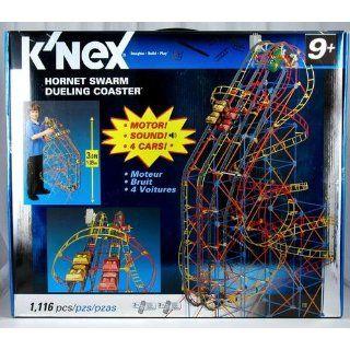 Knex Hornet Swarm Dueling Coaster: Toys & Games