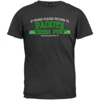 It's Always Sunny In Philadelphia   If Found Please Return T Shirt Clothing