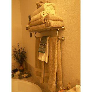 Moen YB2894ORB Eva Hotel Towel Shelf, Oil Rubbed Bronze   Towel Bars
