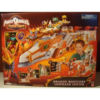 Power Rangers Mystic Force Dragon Rootcore Command Center Playset: Toys & Games