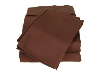 Elite Wrinkle Resistant Sheet Set   Queen Chocolate