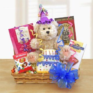 """Organic Stores Gift Baskets """"Birthday Celebration"""" Happy Birthday Gift Basket  Birthday Gift for Men or Women: Everything Else"""