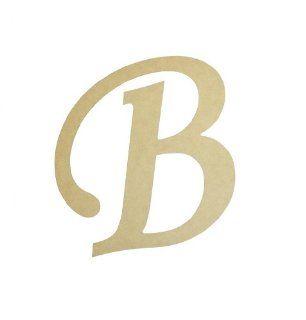 Wall Letter Nursery Letters Mono type B 12 Inch