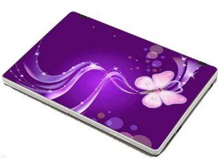 17.3 Inch Laptop Notebook Skin Sticker Cover Art Decal Skins For Laptops Macbook Skins Art Skin Fits Laptop Dancing Butterfly Size Of 17.3 Inch HP Dell Lenovo Asus Compaq Asus Acer Computers With Nice Present Ribbon: Computers & Accessories