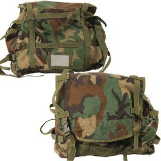 Sleep System Carrier Woodland Camo Previously Issued: Sports & Outdoors