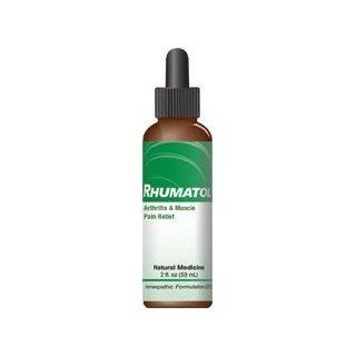 Rhumatol Arthritis and Muscle Pain Relief Medicine for People. All Natural Homeopathic Medicine Quickly Relieves Arthritis and Muscle Pain Symptoms Including Pain, Inflammation, Stiffness, Swelling and Weakness. 1 Bottle   Direct from Manufacturer.: Health