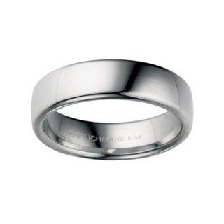 Platinum 6.5mm Euro Comfort Fit Wedding Band Ring (Sizes 8 1/2 to 13). BENCHM: Jewelry