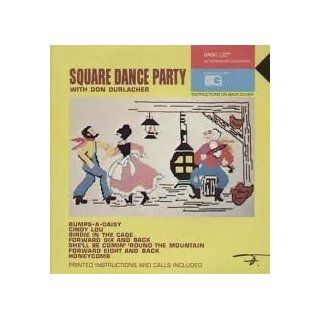 Don Durlacher ~ Square Dance Party LP Vinyl Record: Music