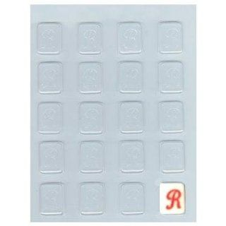 "Letter ""R"" Mints Candy Mold: Candy Making Molds: Kitchen & Dining"