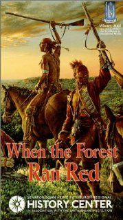 When the Forest Ran Red:  Washington, Braddock & a Doomed Army [VHS]: Michael Rothhaar, Michael Foster, Robert Matzen: Movies & TV
