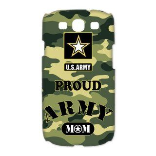 Proud Army Mom SamSung Galaxy S3 Case 3D Special US Army Design Galaxy S3 Case 3D Electronics