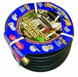 Aqua Plumb Contractor Grade Rubber Hose for Lawn and Garden, 50 Feet : Patio, Lawn & Garden