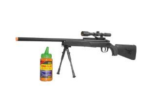 CYMA ZM51 Bolt Action Spring Powered Airsoft Sniper Rifle w/ Scope & BiPod : Airsoft Guns Snipers : Sports & Outdoors