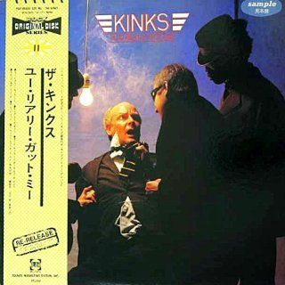 You Really Got Me   Japanese import with Obi strip: The Kinks, Ray Davies, Dave Davies, Jimmy Page, Pete Quaife, Mick Avory, Jon Lord, Bobby Graham: Music