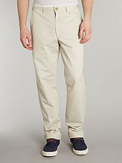 Lands End Men`s plain front original chinos Beige