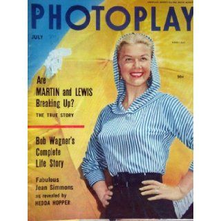 PHOTOPLAY magazine July 1954 with Doris Day on the cover. scarce. candid photos/articles on Debbie Reynolds, Jane Russell, Rock Hudson, Janet Leigh, Robert Wagner, Frank Sinatra. lots of others.: Fred Sammus: Books