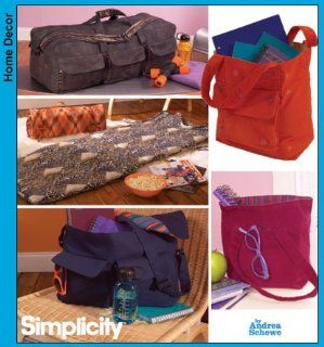 Simplicity 4535 Sew Pattern SIMPLY TEEN TOTES & ORGANIZERS Floor Mat, Messenger Bag : Other Products : Everything Else