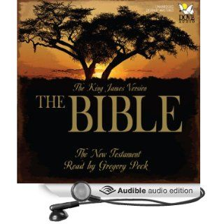 The Bible: The New Testament: The King James Version (Audible Audio Edition): Phoenix Audio, Gregory Peck: Books