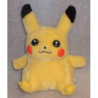 Pikachu Plush Toy   Pokemon Stuffed Animal (8 Inch): Toys & Games