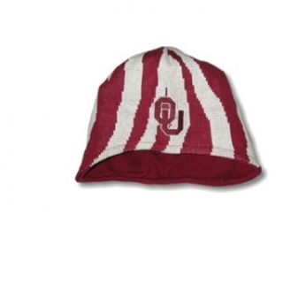 University of Oklahoma Sooners   OU Tiger Stripe Skicap  Sports Related Merchandise  Clothing