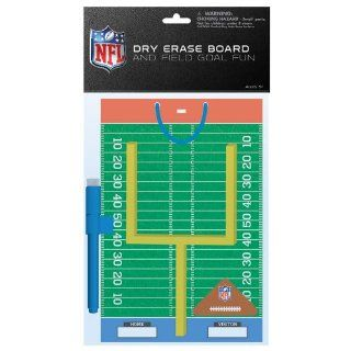 NFL Dry Erase Board & Field Goal Fun Set   Tailgate Party Supplies   1 per Pack: Health & Personal Care