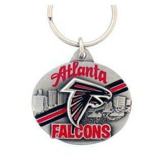 Atlanta Falcons NFL Pewter Key Ring : Sports Related Key Chains : Sports & Outdoors