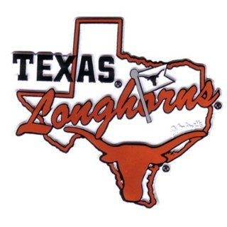 Texas Longhorns Magnet with TX State Outline & Longhorn : Sports Related Merchandise : Sports & Outdoors