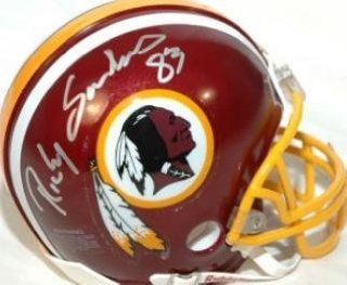 Ricky Sanders (Washington Redskins) Football Mini Helmet : Sports Related Collectibles : Sports & Outdoors