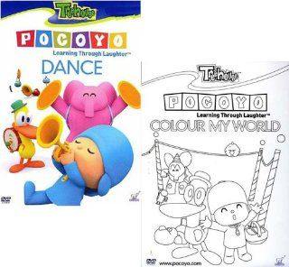 Pocoyo   Colour My World / Dance   Learning Through Laughter (2 pack): Movies & TV