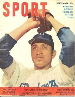 Brooklyn Dodgers Magazine   Sports September 1950 Don Newcombe : Sports Related Trading Cards : Sports & Outdoors