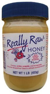 Really Raw Honey 1 lb Jar : Grocery & Gourmet Food