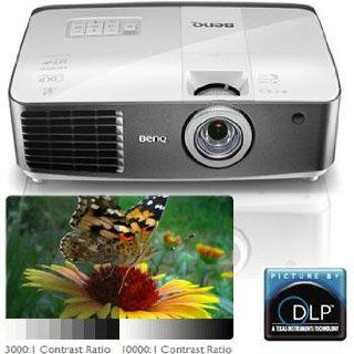 BenQ W1500 1080P HD Wireless HD DLP Home Theater Projector (2013 Model): Electronics