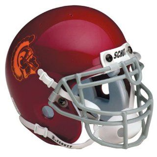 NCAA USC Trojans Replica Helmet : Sports Related Collectible Full Sized Helmets : Sports & Outdoors