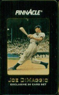 Joe DiMaggio Exclusive 30 Card Set : Sports Related Trading Cards : Sports & Outdoors