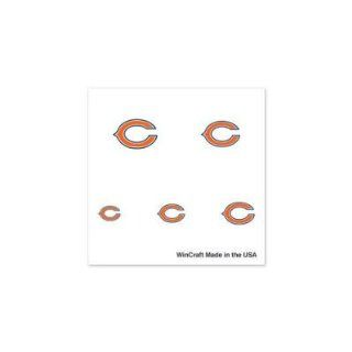 CHICAGO BEARS OFFICIAL LOGO FINGERNAIL TATTOOS : Sports Related Collectibles : Sports & Outdoors