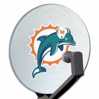 Siskiyou Miami Dolphins Satellite Dish Cover : Sports Related Collectibles : Sports & Outdoors