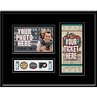 NHL Boston Bruins/Philadelphia Flyers GameDay Frame 2010 Winter Classic Ticket Frame : Sports Related Display Cases : Sports & Outdoors