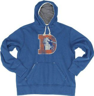 "Denver Broncos Reebok ""Bigger Better Retro Logo"" Vintage Premium Sweatshirt : Sports Related Merchandise : Sports & Outdoors"