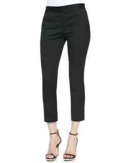 Womens Cropped Skinny Pants   Reed Krakoff   Black (8)