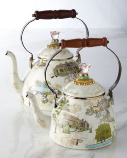 Aurora 3 Quart Tea Kettle   MacKenzie Childs