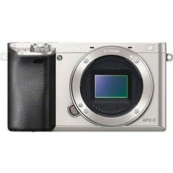 Sony Alpha a6000 24.3MP Silver Interchangeable Lens Camera   Body only