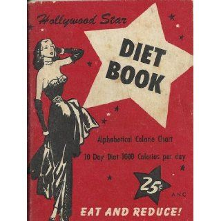 Hollywood Star Diet Book Research Diet Consultants Books