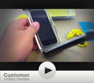 Aqua Box WaterProof Smartphone Device Case Series 100   Black Cell Phones & Accessories