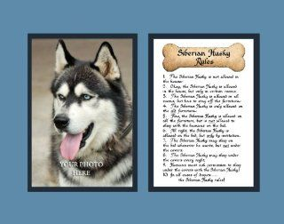 Dog Rules Siberian Husky Wall Decor Pet Saying Dog Saying   Decorative Plaques