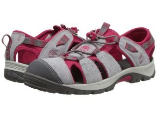 Timberland Kids Earthkeepers Belknap Sandal Sport Girls Shoes (Gray)