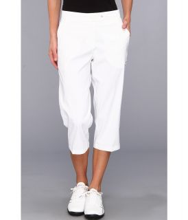 PUMA Golf Solid Golf Tech Capri 14 Womens Capri (White)
