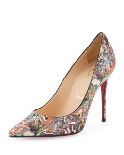 Decollete Python Pump, Multicolor   Christian Louboutin   Multi colors (37.0B/7.