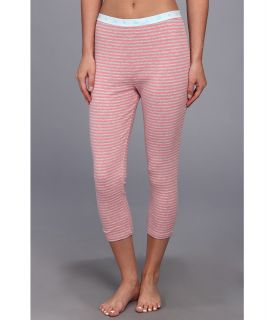 Jane & Bleecker 1x1 Rib Legging Womens Pajama (Pink)