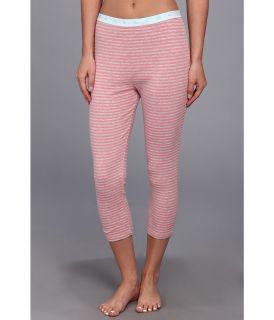 Jane & Bleecker 1x1 Rib Legging Womens Pajama (Pink)